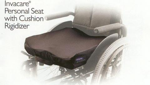 Invacare Personal Seat With Cushion Rigidizer
