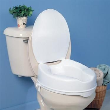 Savanah Raised Toilet Seat With Lid