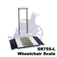Multipurpose 3-In-1 Wheelchair Scale With Oversized Platform (Model Sr755L)