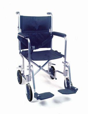 Aluminium Transport 19 Inch Wheelchair (Model 1745)
