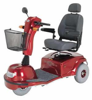 Pioneer 9 Bariatric 3 Wheel Scooter (Model S337)