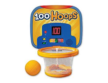 100 Hoops Basketball Counting Game