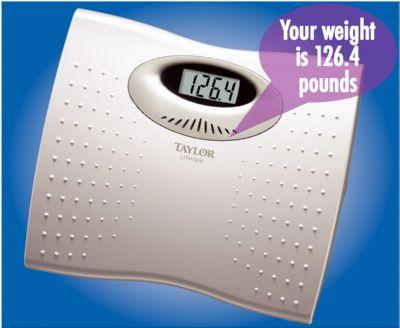 Talking Digital Bathroom Scale