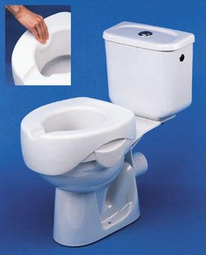Rehosoft Elevated Toilet Seat (Model H725690050)