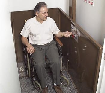 Butler Vertical Wheelchair Lift