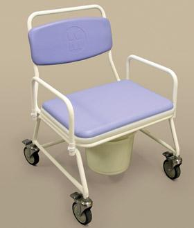 Birstall Bariatric Mobile Commode (Model 195)