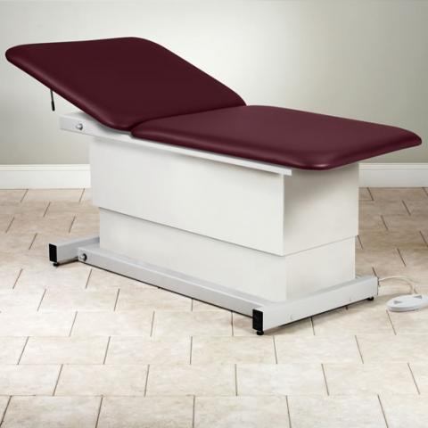 Shrouded Extra Wide Bariatric Power Table With Adjustable Backrest (Models 84208-34 & 84208-40)