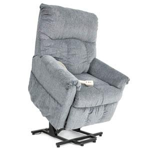 Pride Specialty 2-Position Partial Recline Wall Hugger Chaise Lounger (Model Ll-805)
