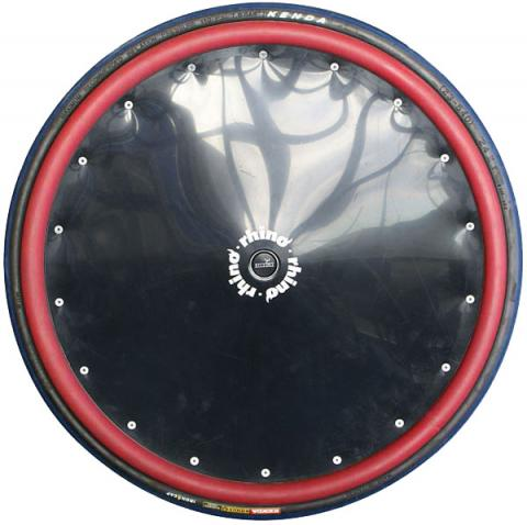 Black Poly Spoke Guards With Rubber Hand Rims