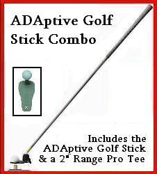 Adaptive Golf Stick Combo