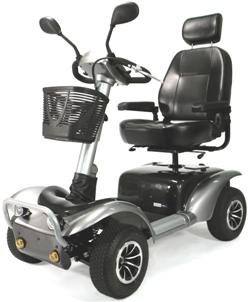 Osprey 4410 4-Wheel Heavy Duty Scooter (Models Osprey4410Mg20Cs & Osprey4410Mg22Cs)