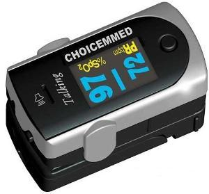 Choicemmed Oxywatch Talking Fingertip Pulse Oximeter
