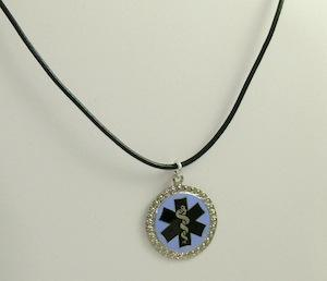 Medical Medallion Necklace