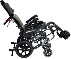 Vip-515-Tp Lightweight Tilt-In Space Transport Wheelchair