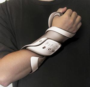 Strap-On Blood Pressure Monitor