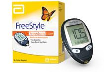 Freestyle Freedom Lite® Blood Glucose Monitoring System