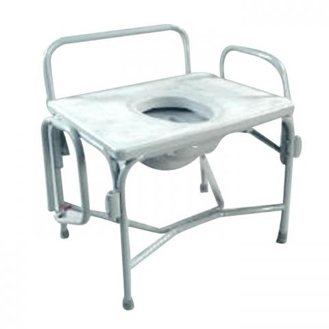 Grand Line Extra Wide Heavy Duty Drop Arm Bariatric Commode