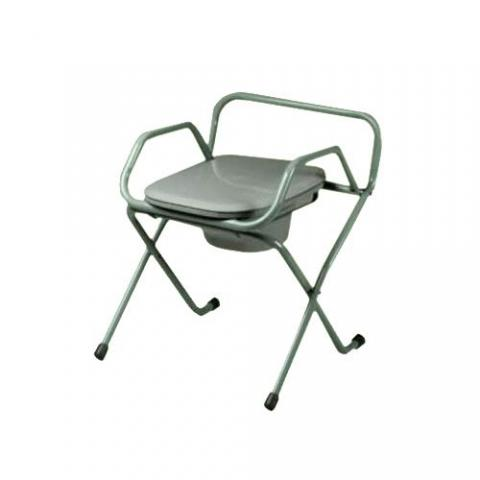 SpaceSaver Foldable Commode