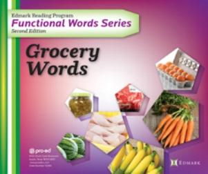 Edmark Functional Word Series - Grocery Words