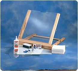 Sidiki Portable Transparent Writing / Activities Table (Model 817103)