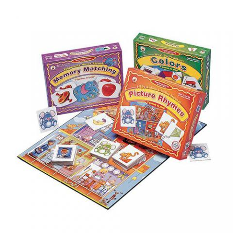Childcraft First Skills Language Learning Game Set, Set of 3