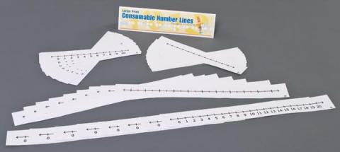 Consumable Number Lines(1-03012-00)