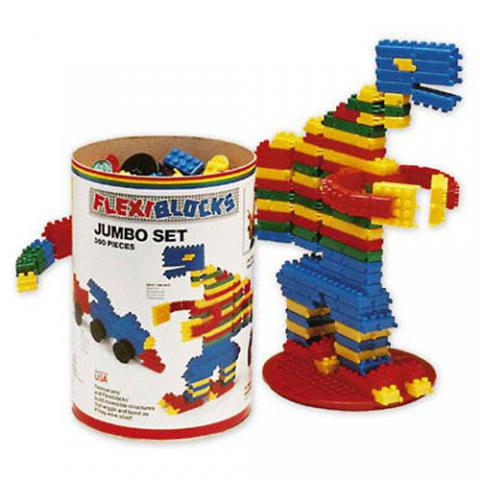 Flexiblocks Manipulative Jumbo Building Set