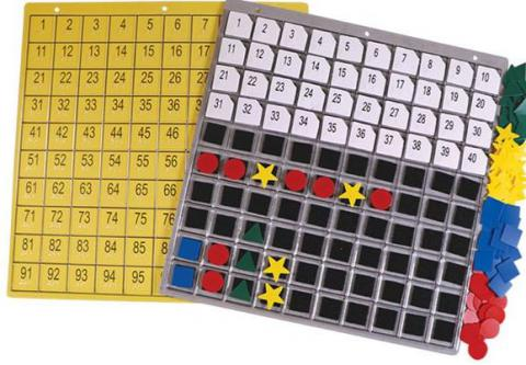 Hundred Board and Manipulatives (1-03106-00)