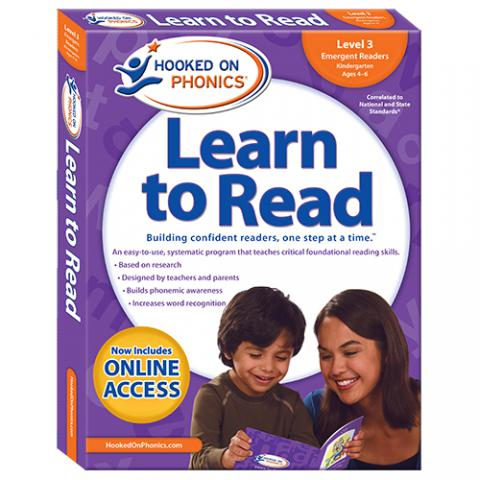 Learn to Read – Level 3: Emergent Readers (Kindergarten | Ages 4-6)