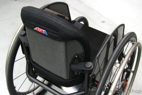 ADI Carbon Fiber Series Back Support - Low
