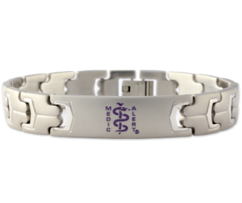 Safe Return Esquire Medical ID Bracelet