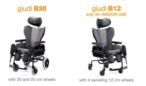 GUIDI B12 Tilt in Space Wheelchair