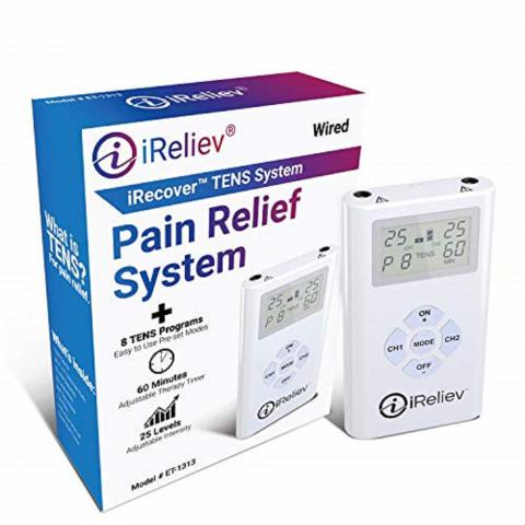 iReliev TENS Unit Electrodes Pain Relief Bundle