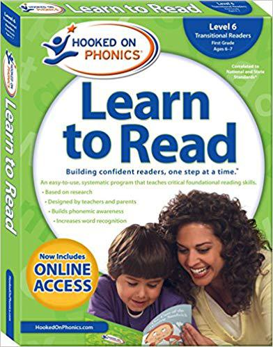 Hooked on Phonics Learn to Read - Level 6: Transitional Readers (First Grade | Ages 6-7) Paperback – February 21, 2017