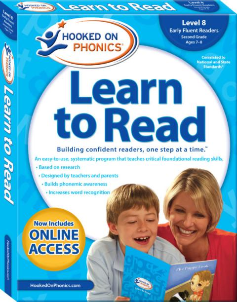 Learn to Read – Level 8: Early Fluent Readers (Second Grade | Ages 7-8)