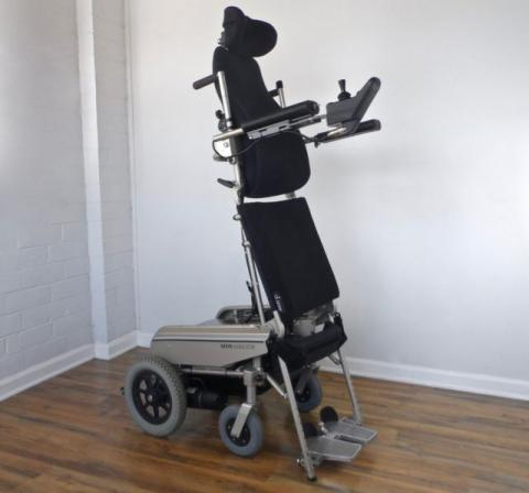 Levo standing power wheelchair - LCM Mobil -- like LifeStand-Permobil